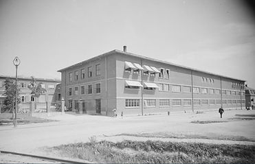 Askim gummivarefabrik ca 1935.Foto:Mittet