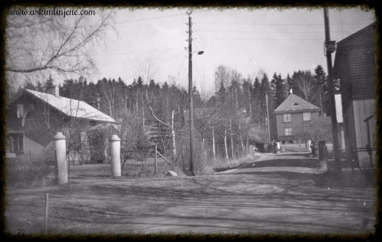 Gateparti fra Mysen 1952