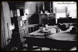 Interiør Hotvethytta 1949