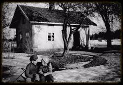 Gamlestua på Skjørtvet-torp 1951