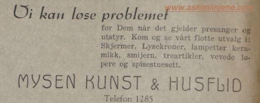 Mysen Kunst&Husflid
