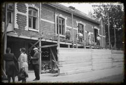 Fra ombyggingen av Indre-gården 1950