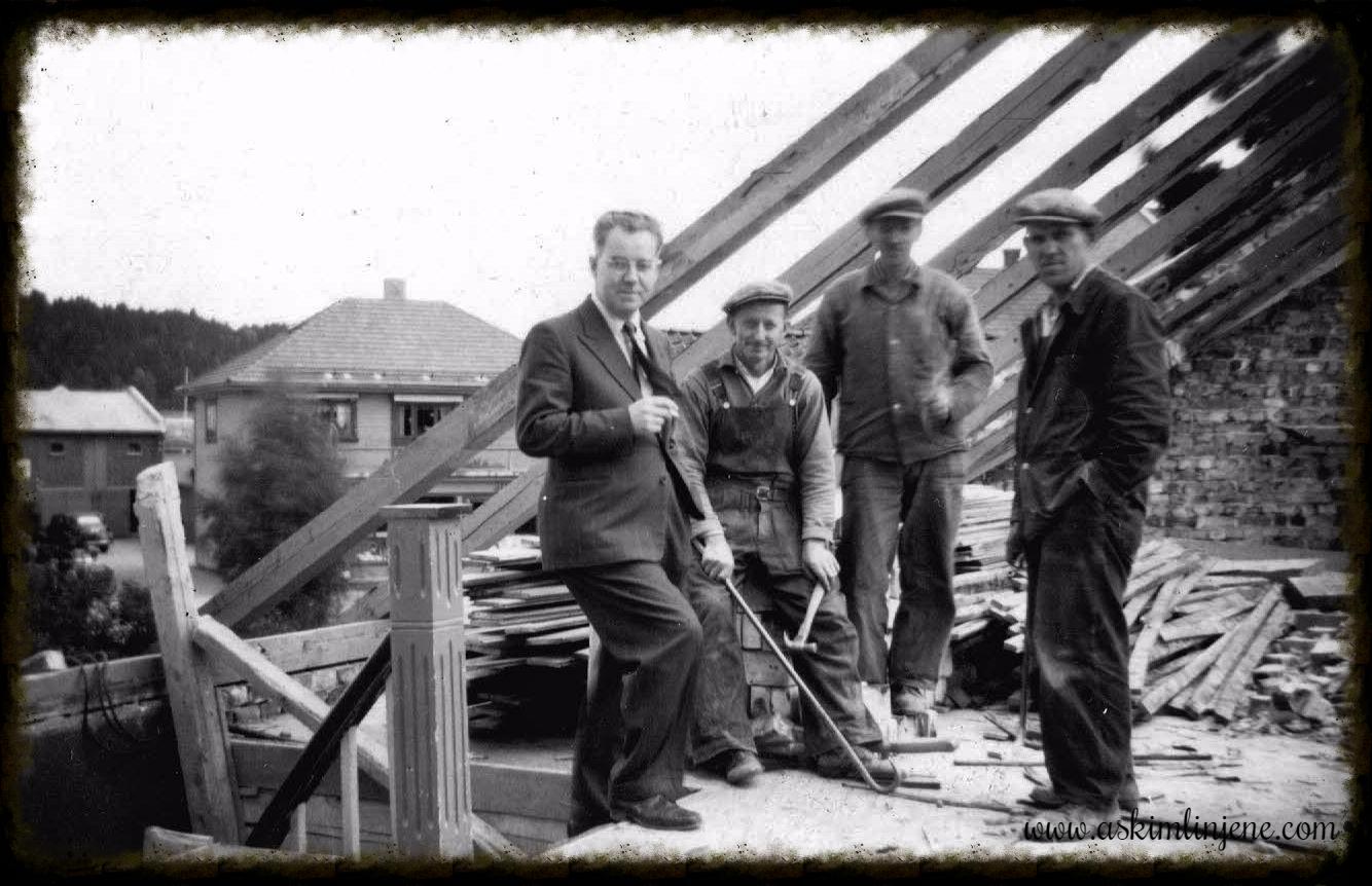 Ombygging av Indre-gården 1950