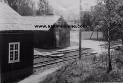 Vognskjul Solbergfoss 1967
