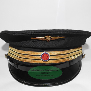 NSB uniformslue stasjonsmester
