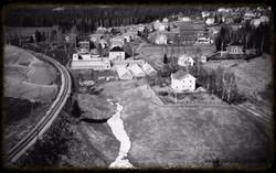 Utsikt fra Silobygget mars 1953