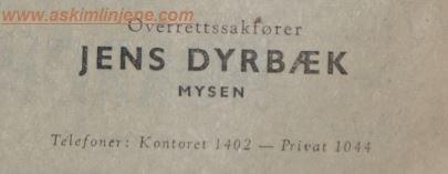 Jens Dyrbæk