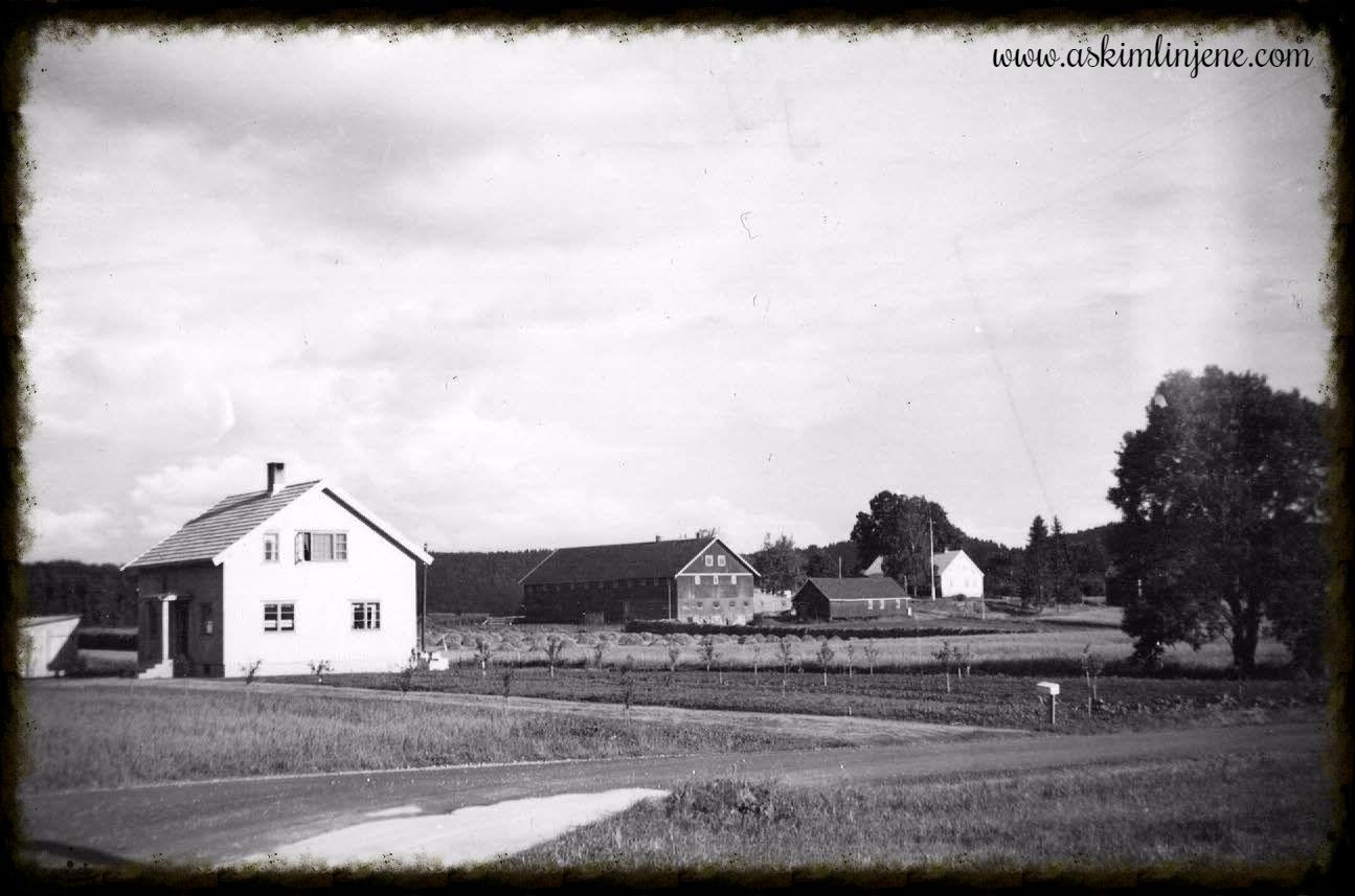 Huset til Helge Kirkeby 1952