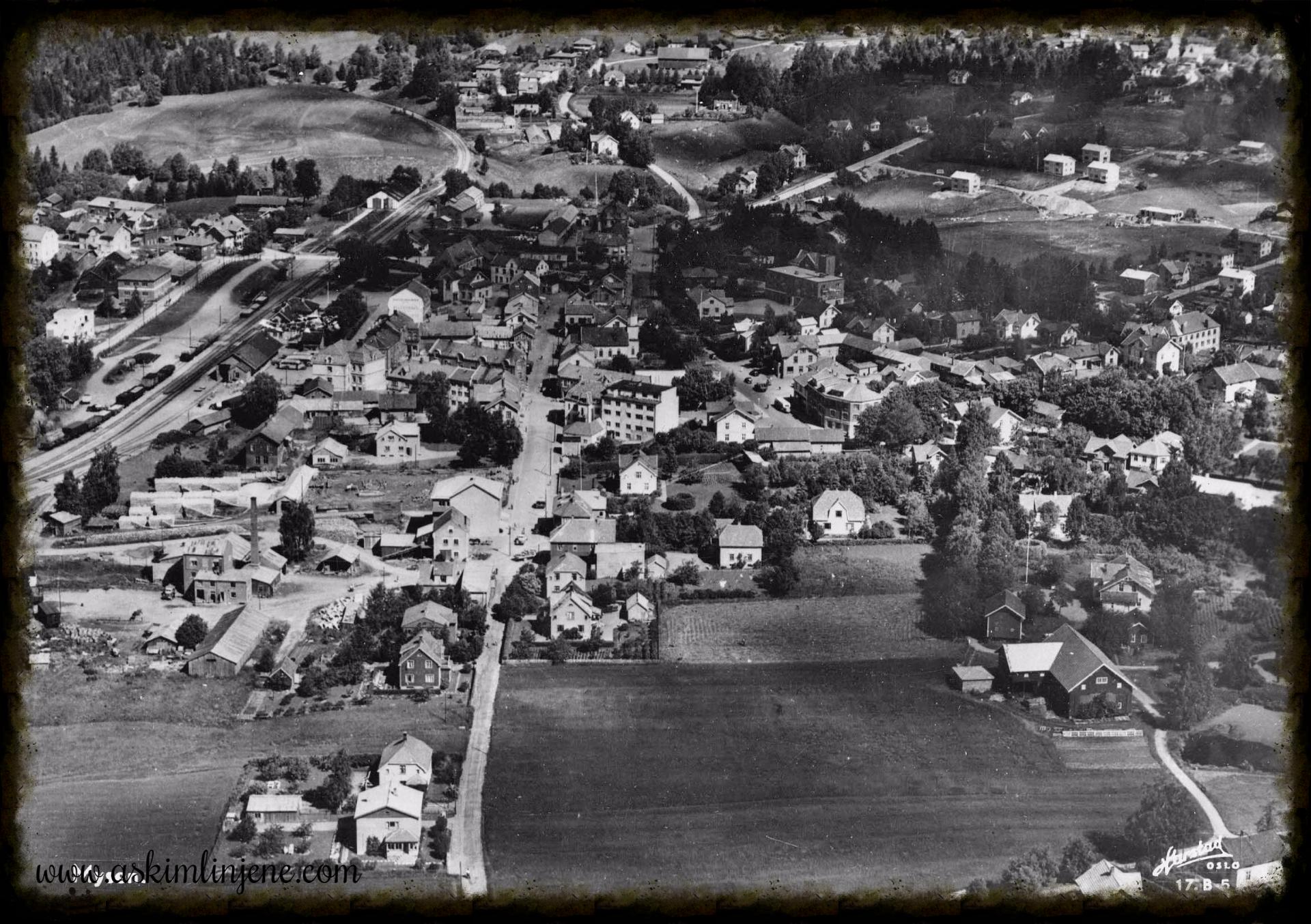 Flyfoto Mysen slutten på 1940-tallet
