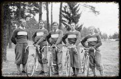 Syklister ca 1950