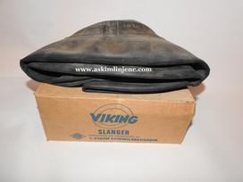 Viking sykkelslange m/eske fra Askim Gummivarefabrik