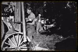 Vannboringa ved Susebakke 1952