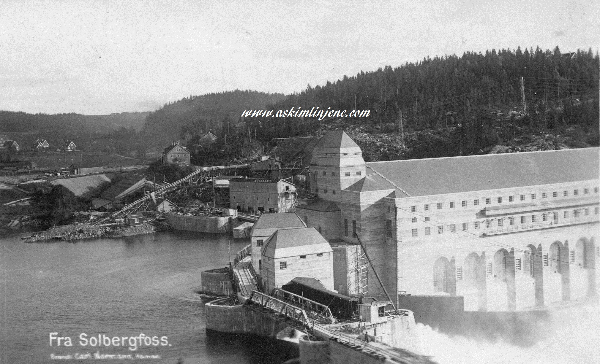 Solbergfoss 1924