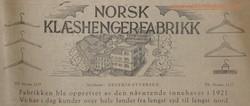 Norsk Klæshengerfabrikk