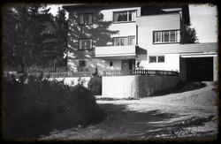 Huset til Johan Ahlberg 1952