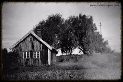 Hus ved Tenor Kirke 1950