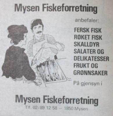 Mysen Fiskeforretning