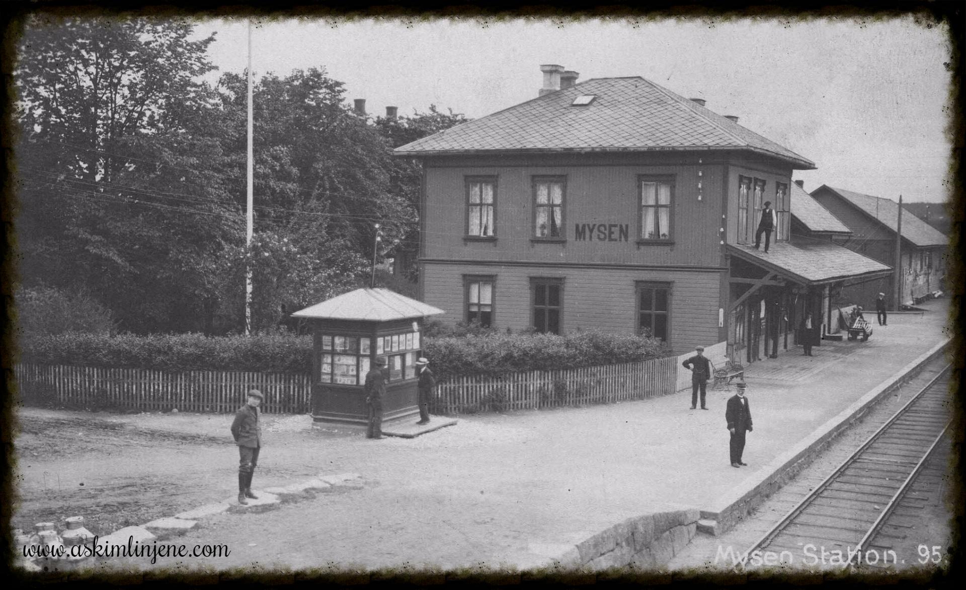 Mysen jernbanestasjon