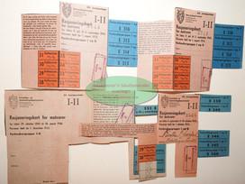 Rasjoneringskort for matvarer-Kaffeertstatning 1945