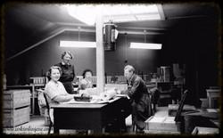 Fra arbeidssalen i Indre 1951