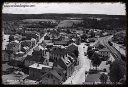 Utsikt fra kornsiloen ca 1955