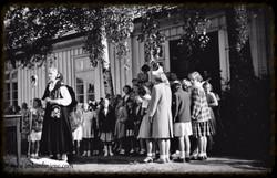 Eidsberg Prestegård juli 1951