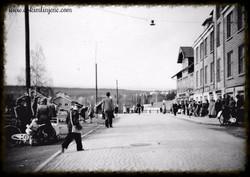 Jernbanegaten 1951