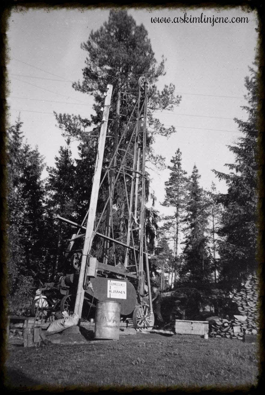 Vannboringen ved Susebakke 1952