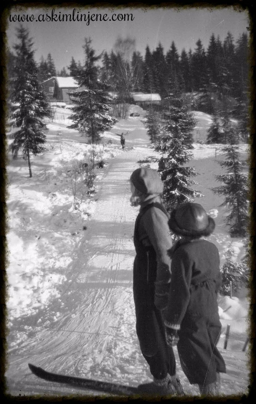Skau-bakken 1951