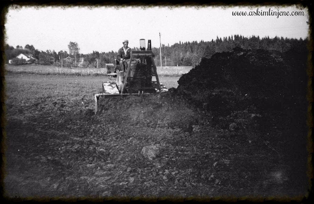 Arbeid med hovedkloakken 1952