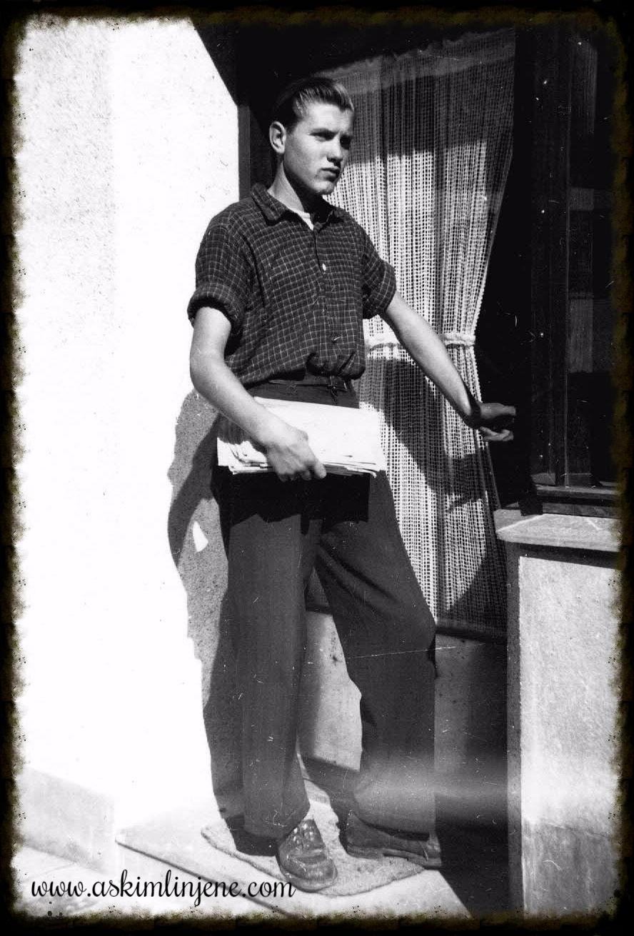 Kontorbud i Indre 1952