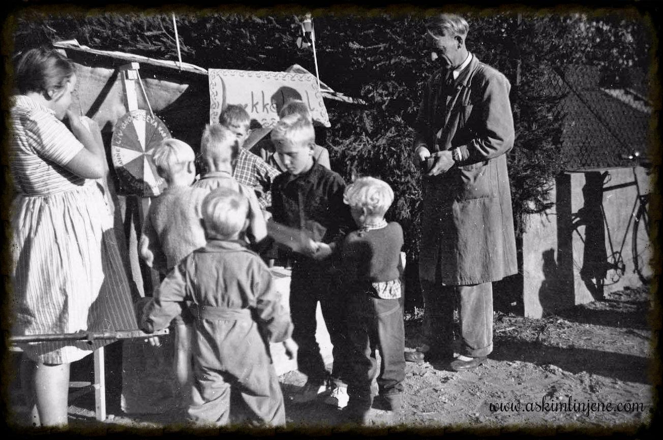 Basar ved Degneshaven 1952