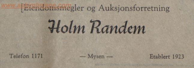 Holm Randem