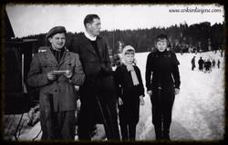 Ved Idrettsplassen 1950
