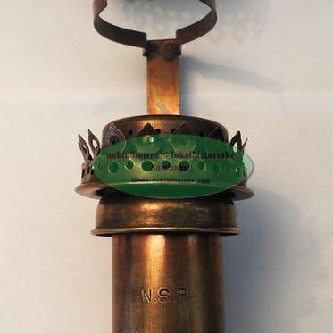 Lampe NSB stearin(mangler glass)
