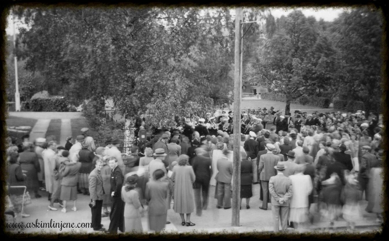 Sang og musikkstevne Mysen 1950