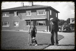 Eidsberg Sparebanks parkanlegg 1949
