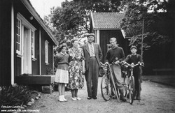 Fam.Kopperud og Knut Mysen