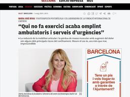 """""""El que no hace ejercicio termina llenando ambulatorios y servicios de urgencias"""""""