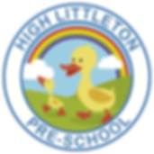 High Littleton Pre School, high lilttleton pre school logo