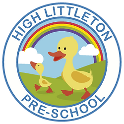 High Littleton Pre School, high lilttleton pre school logo