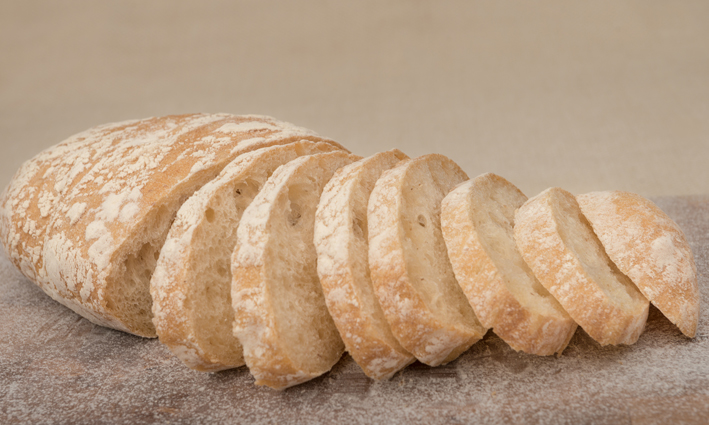 Sliced Ciabatta