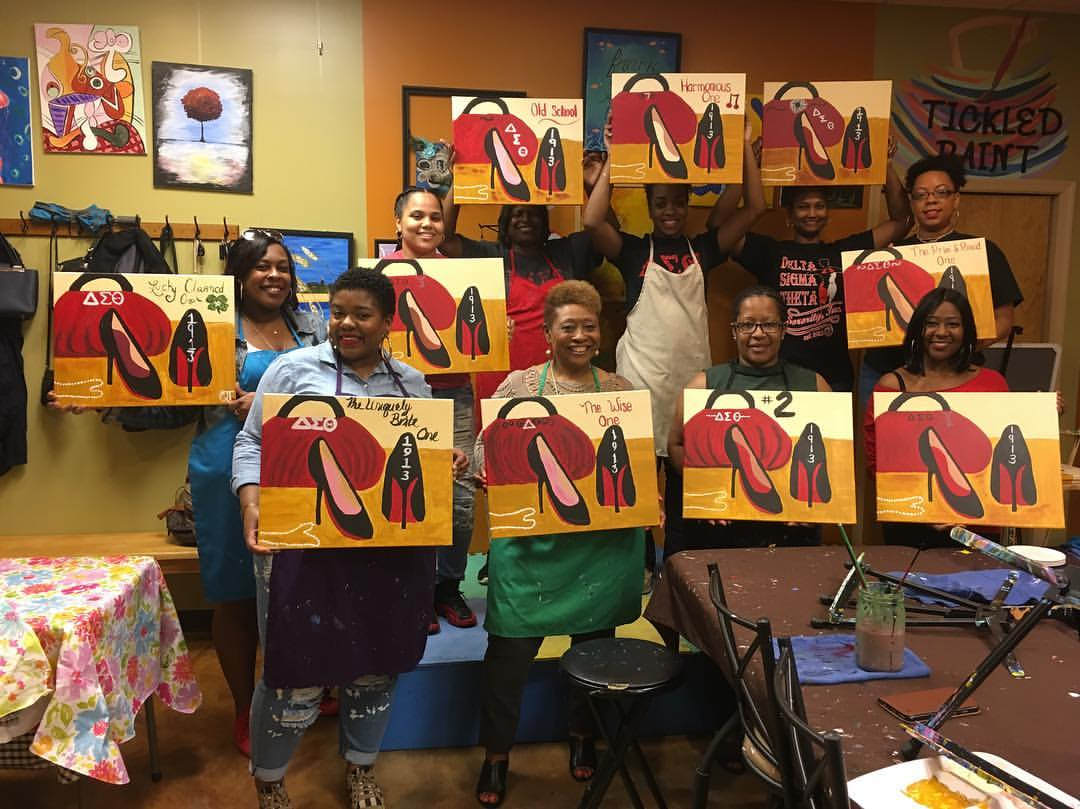 Sisterhood Paint Nite 2017