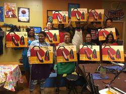 Sisterhood Paint Nite 2017