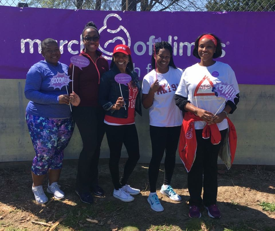 March of Dimes Walk 2015