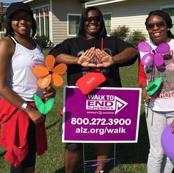 Alzheimers Walk 2014