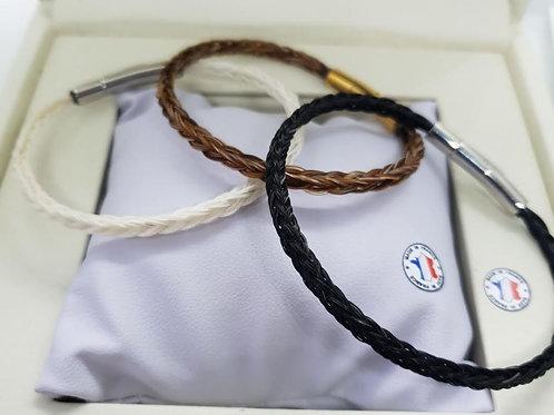 Bracelet tressé en carré SLIM