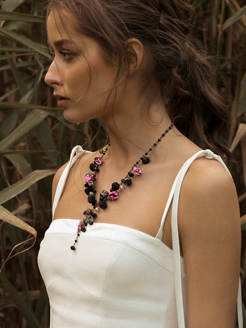 Collier FRENCH ROSE