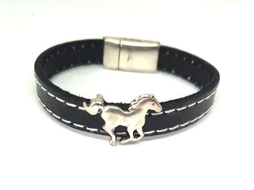 Bracelet en cuir GALOP