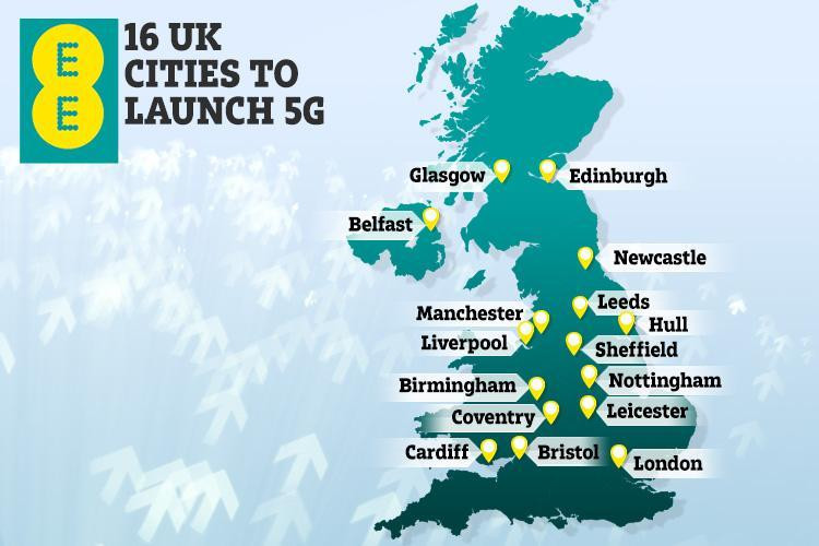 EE 5g mobile offers